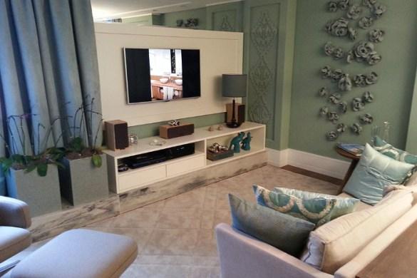 Sala simples Como decorar