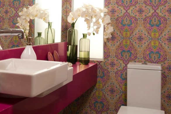 Banheiro rosa Dicas para decorar dicas de decoração como decorar aprenda decorar