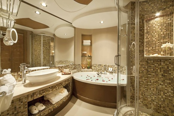 Banheiros luxuosos Dicas de especialista