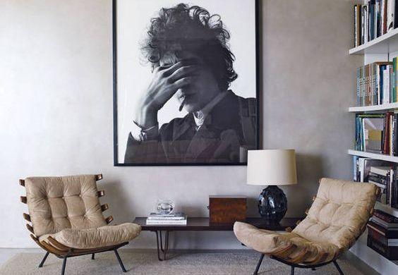 poltronas modernas para a sala de estar