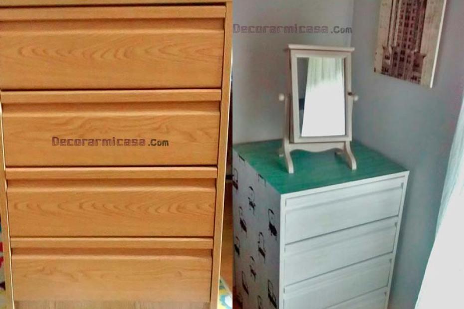 DIY Cajonera, antes y después