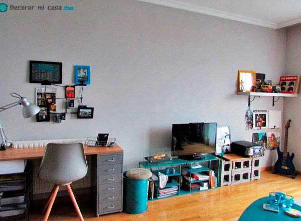 Antes y después de mi salón – La casa del año