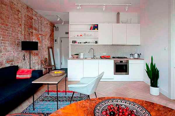 Un piso pequeño con grandes ideas