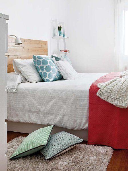 Paleta de colores para un dormitorio de alquiler
