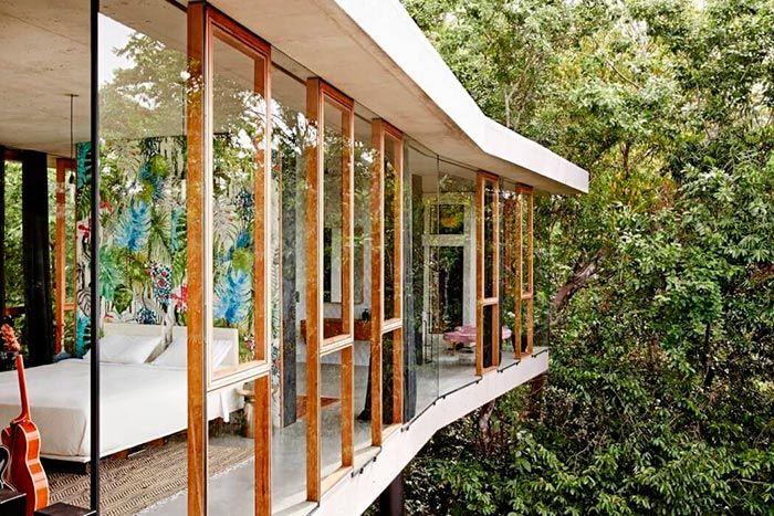 Una casa para disfrutar y relajarse