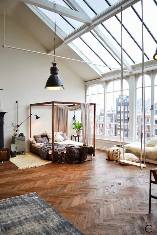 Un loft en Amsterdam que no es lo que parece