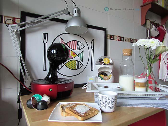Mi rincón relajante en la cocina con Dolce Gusto®