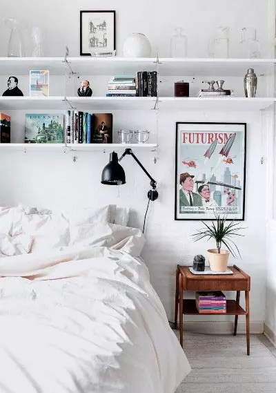 Ideas para lámparas auxiliares en el dormitorio