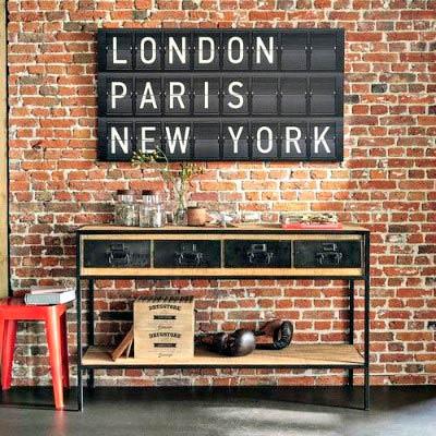 Mueble de entrada con diseño