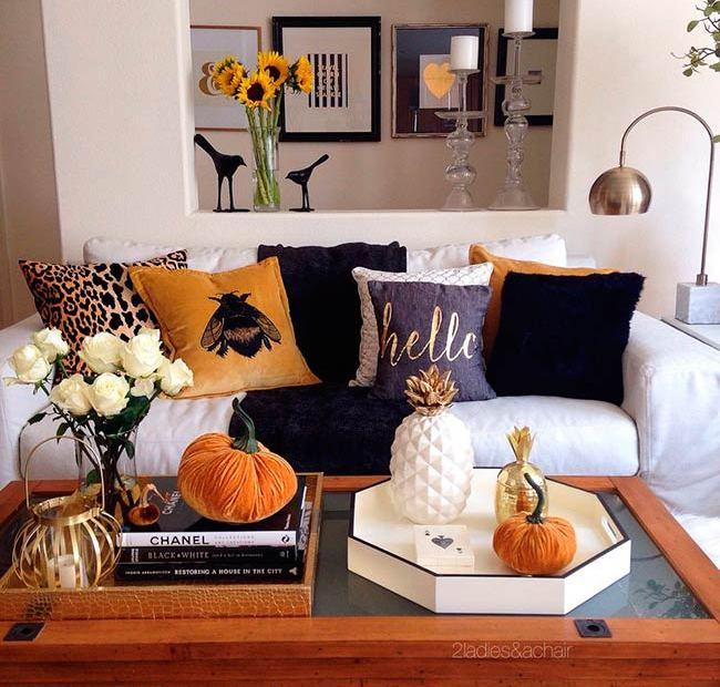 Ideas para decorar en otoño