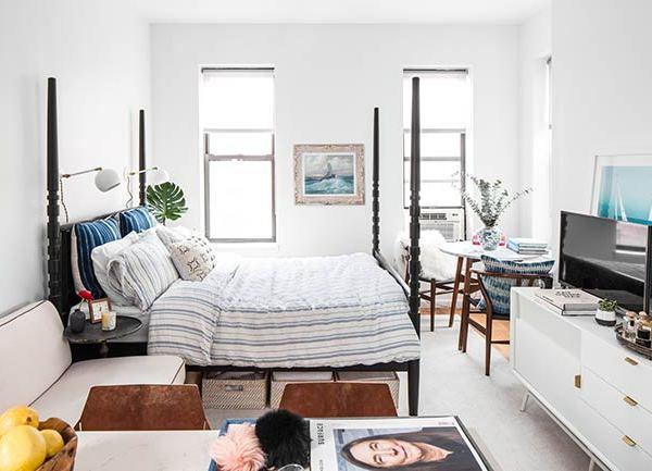 Decorar un minipiso de 26 m² y no morir en el intento