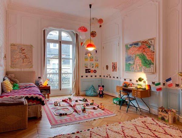 Apartamento ecléctico lleno de tendencias en París