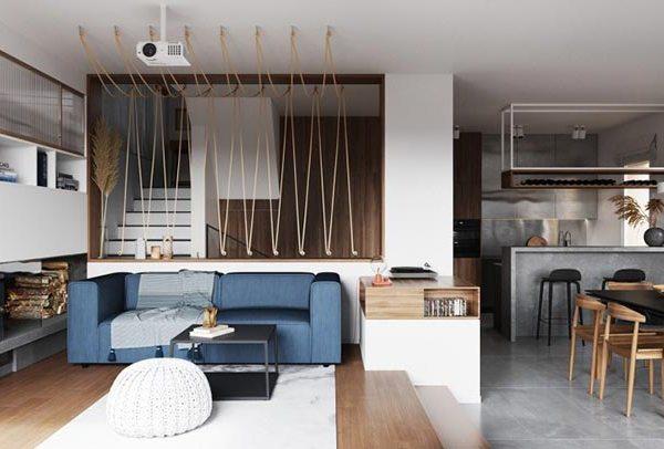 Ideas para casas pequeñas en una vivienda de Milán