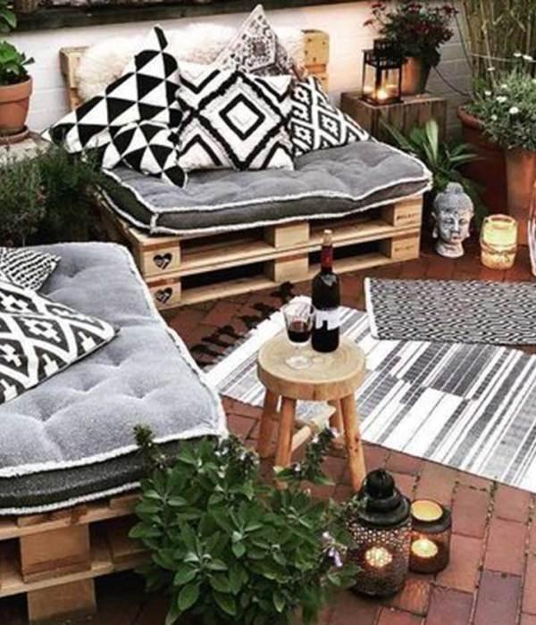 Decora tu terraza o jardín también en invierno