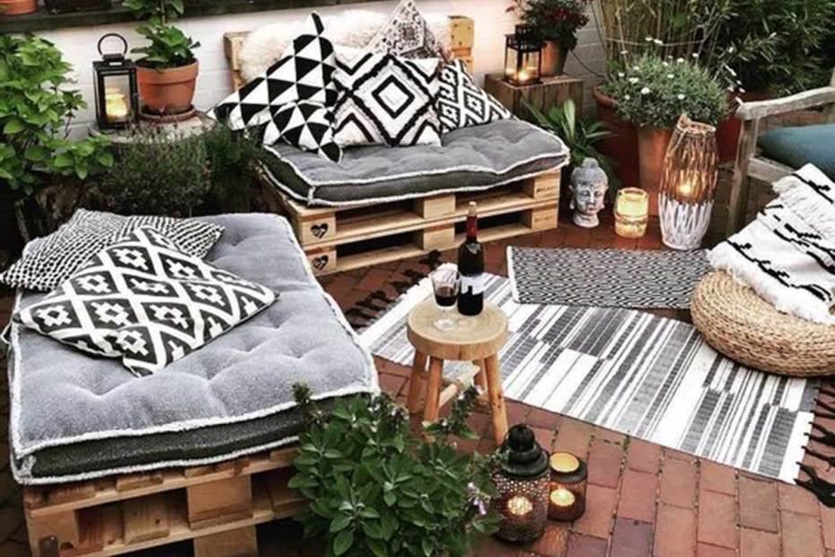 Terraza o jardín para invierno