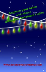 battery operated christmas lights and ornaments
