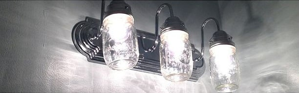 mason jar light ideas