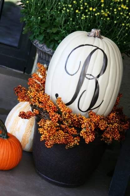 Initial Pumpkin
