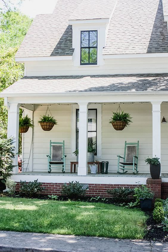 Small Front Porch Makeover