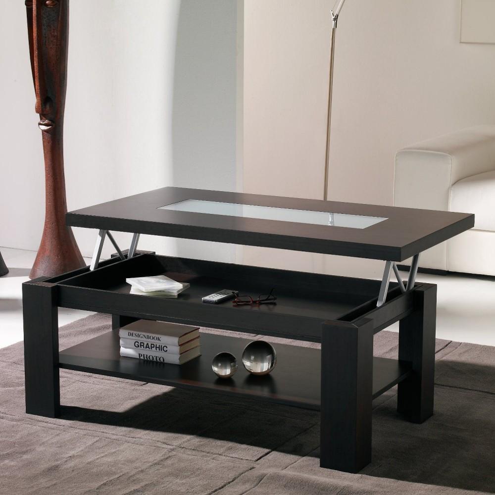 Une Table Basse Relevable Pour Un Sjour Hors Du Commun