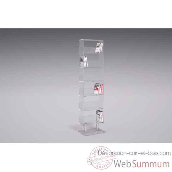 range dvd bibliotheque en plexiglas marais international mbibli