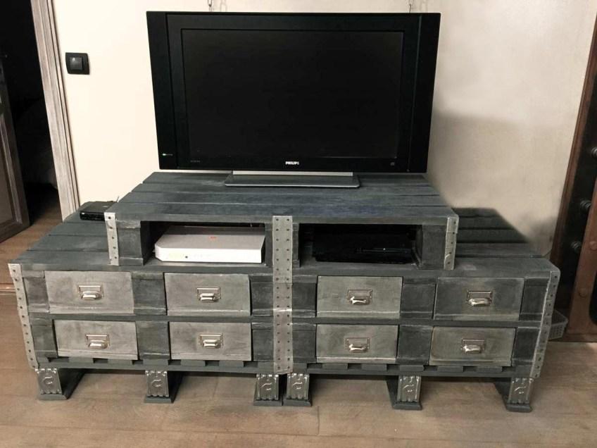 meuble industriel et décoration de style industriel