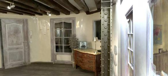 rénovation peinture appartement sur entrée classique
