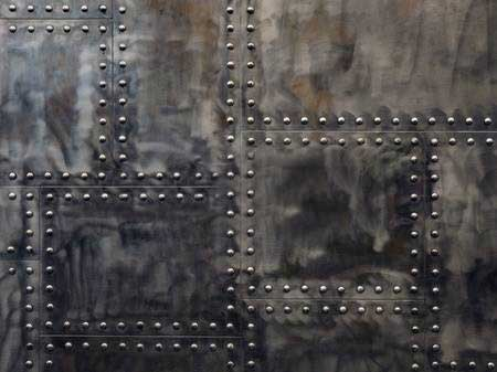 Plaques de métal riveté industriel