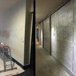 rénovation d'un hall d'immeuble ancien métallisé + IPN