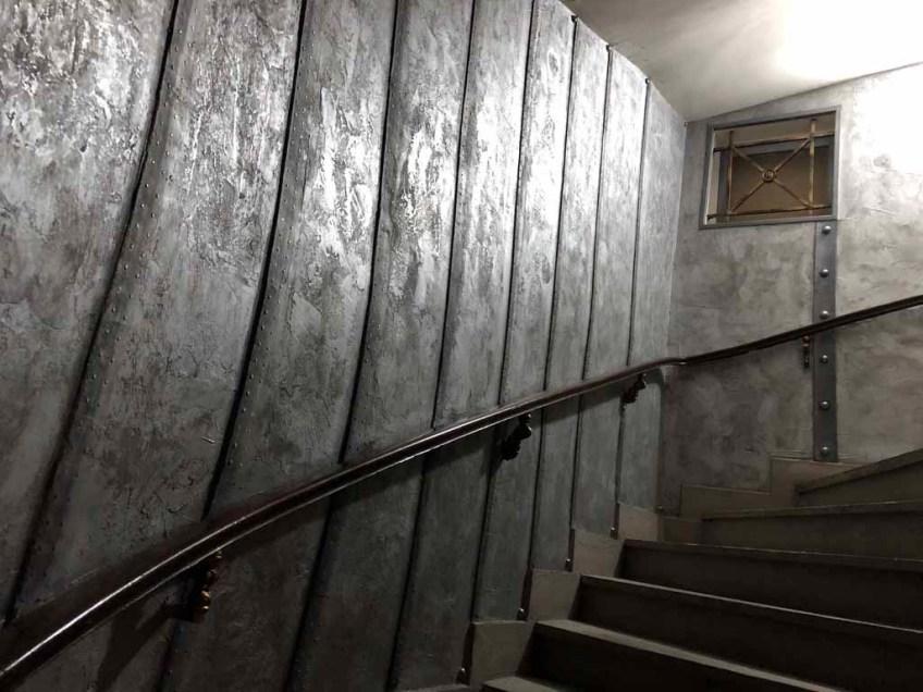 créations décoration style industriel murs métal