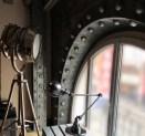 le loft style industriel avec IPN style eiffel