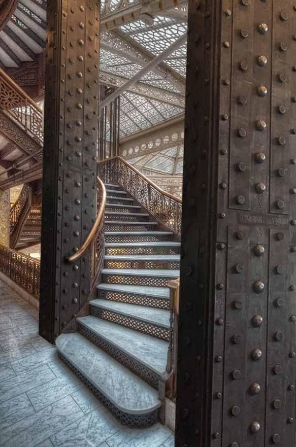 décorateur d'intérieur murs industriel IPN style Eiffel