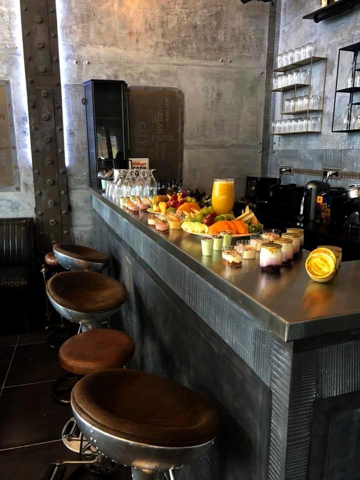décoration bar style industriel