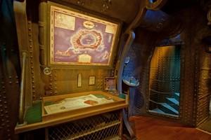 décoration Jules Verne et association style Eiffel et industriel