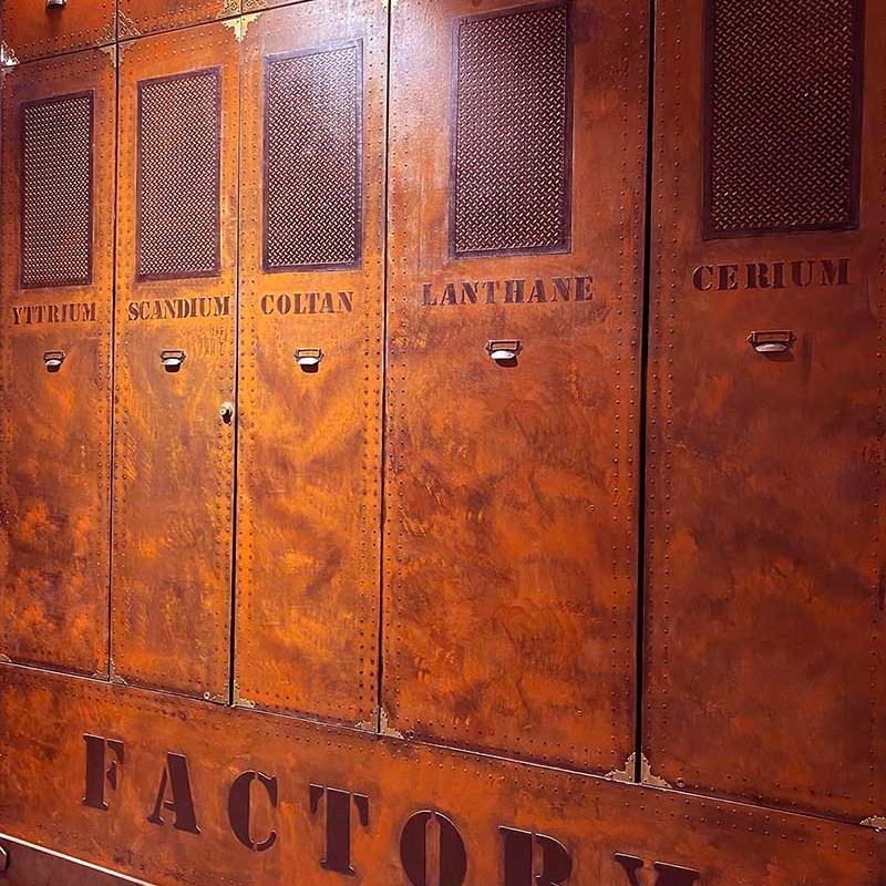 décorateur d'intérieur murs industriel paris style Eiffel, steampunk