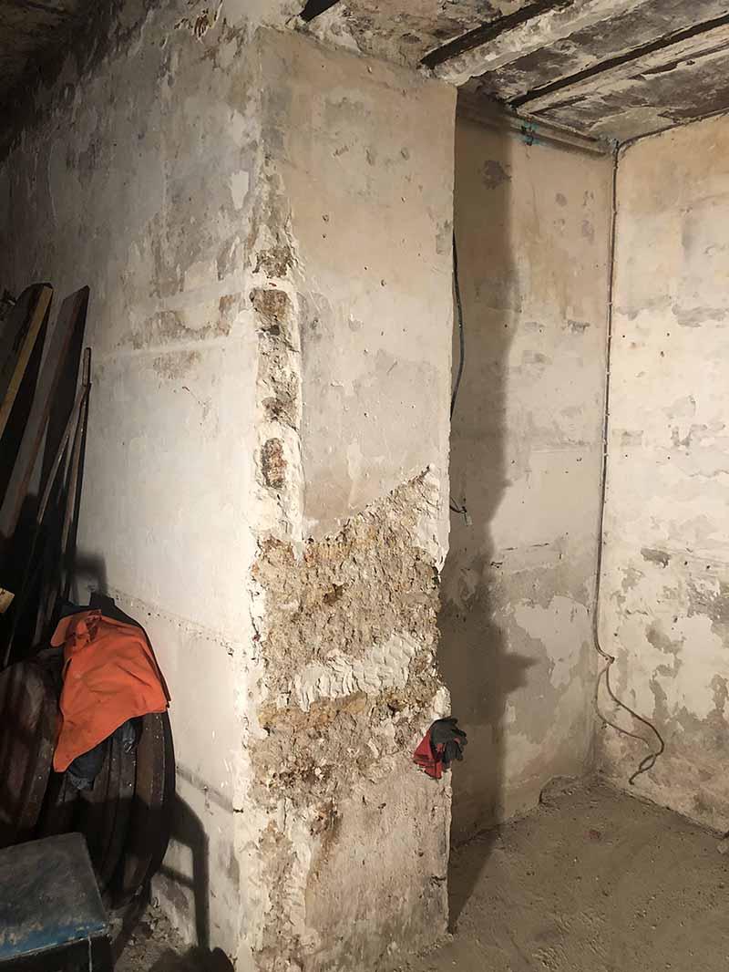 décoration de surfaces style industriel murs métal