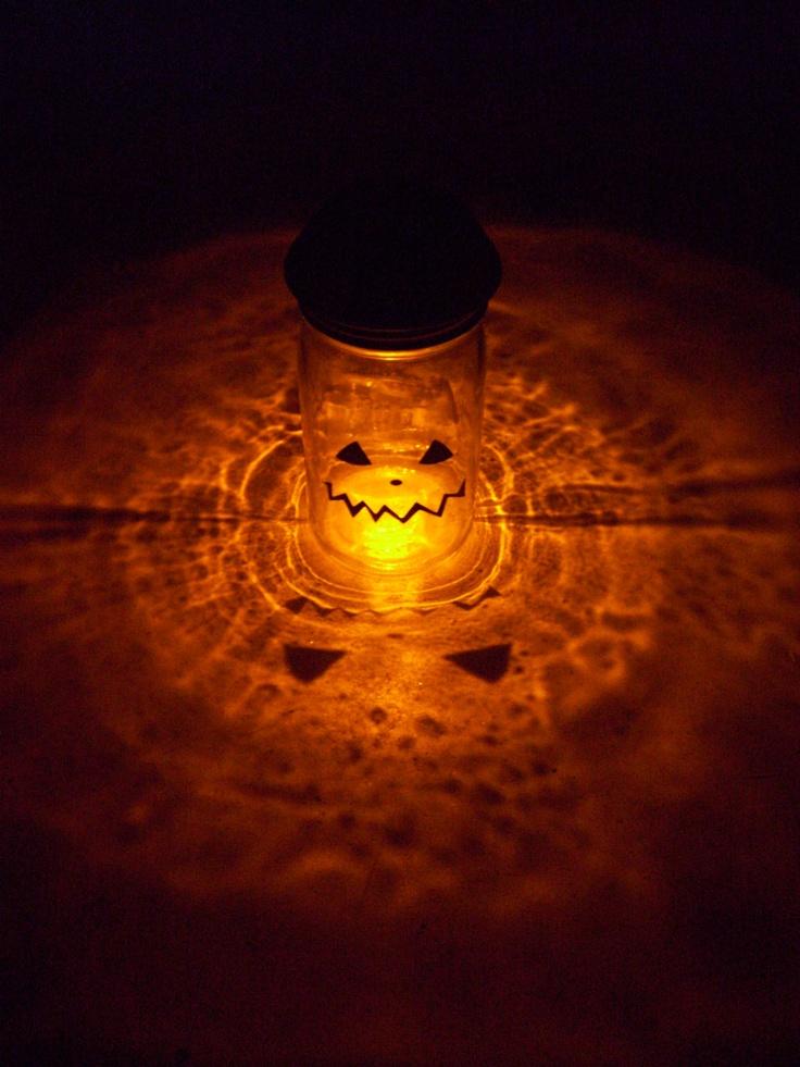 30 Mason Jars Halloween Decorations Ideas Decoration Love