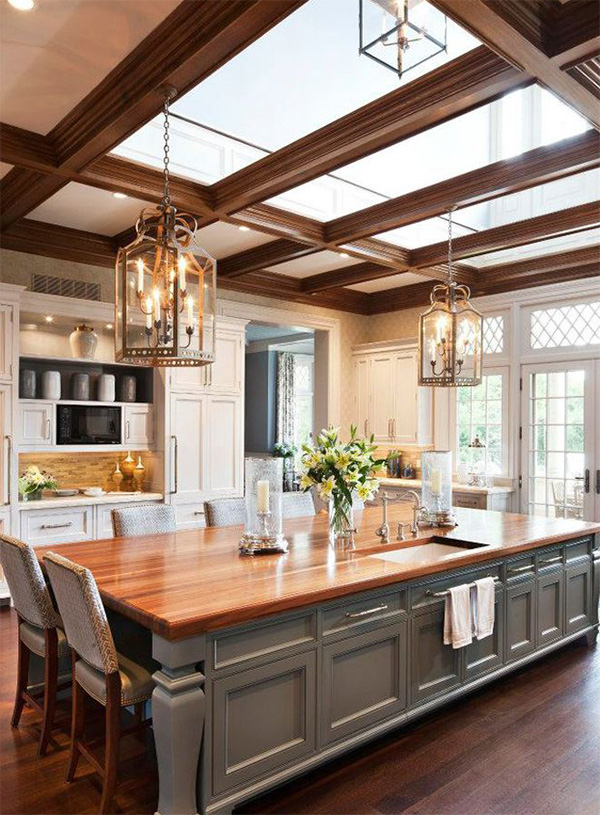 30 Gorgeous Large Kitchen Design Ideas Decoration Love