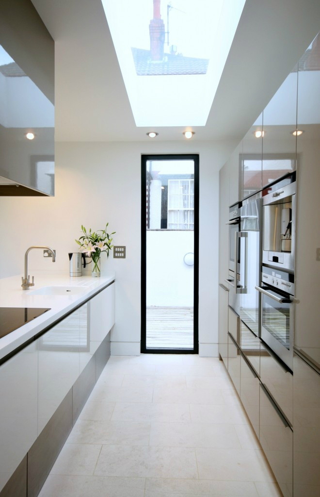 Small Galley Kitchen Plans