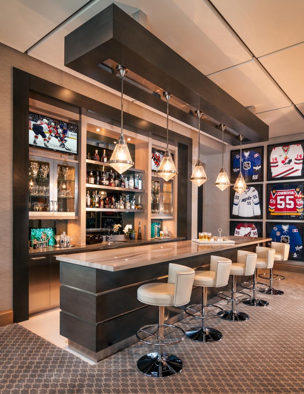 25 Sports Home Bar Design Ideas - Decoration Love