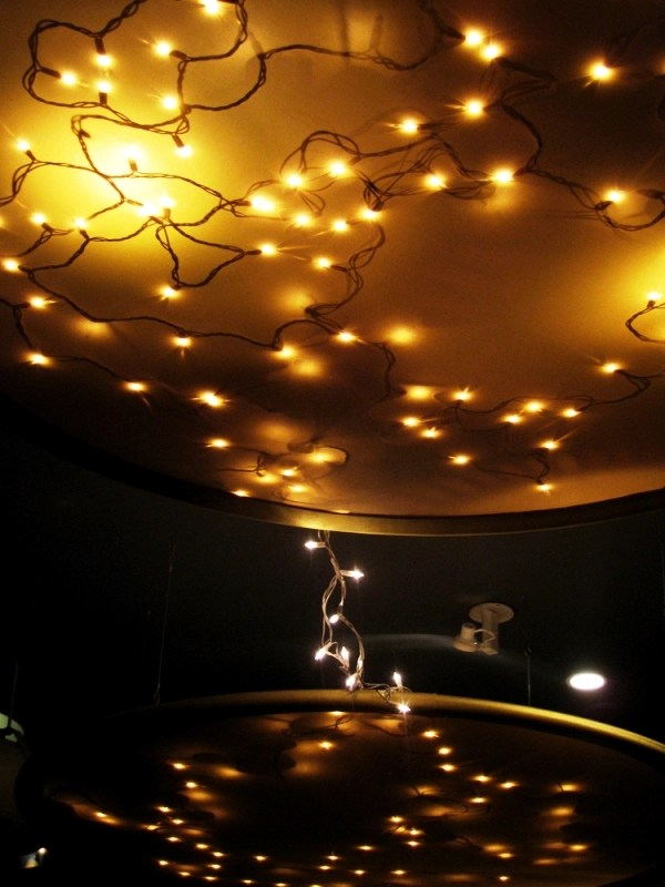 25 Christmas Lights Decorations On Ceiling Decoration Love
