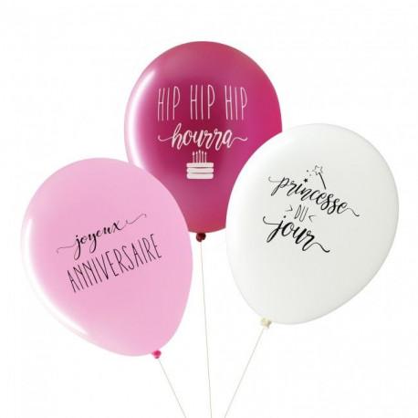 Ballons Anniversaire Fille Pour Candy Bar