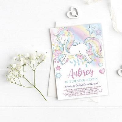 decoration anniversaire theme licorne