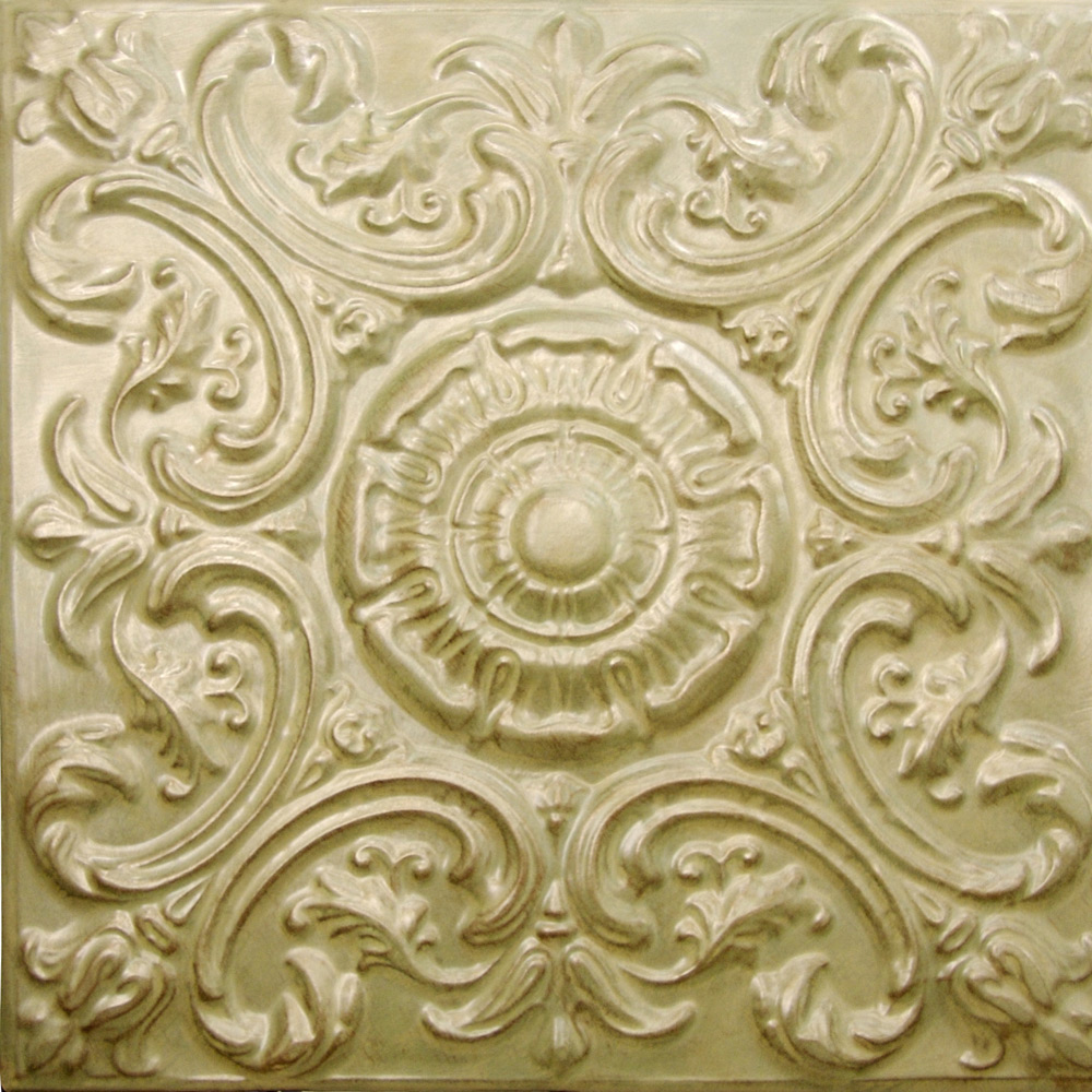 Tin Ceiling Tile Sage Green