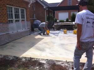 Stamped Concrete :: How We Do It | Decorative Concrete of