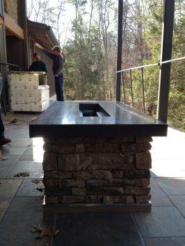 Polished Concrete Countertop-203