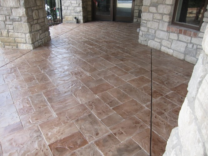 Top Quality Stamped Concrete Overlays Installation In Denver Co