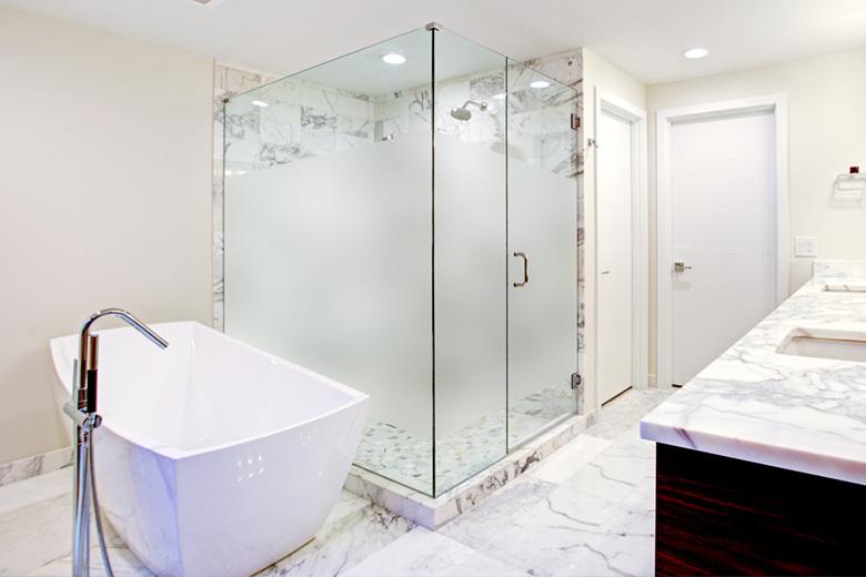 for bathroom windows and shower doors