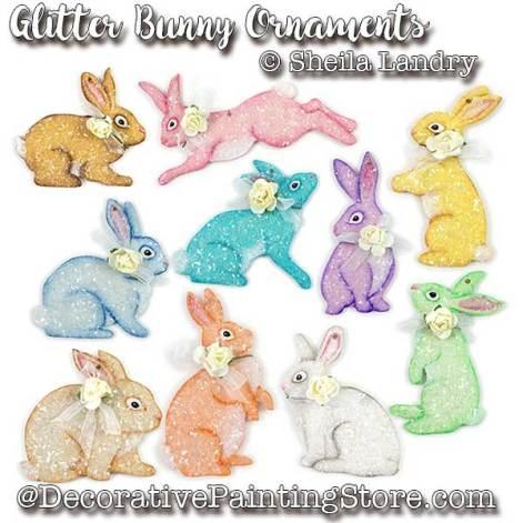LAS18271web-Glitter-Bunny-Ornaments
