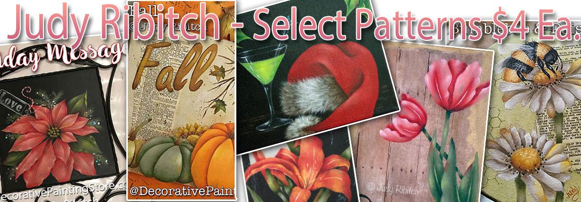$4 Patterns - Judy Ribitch